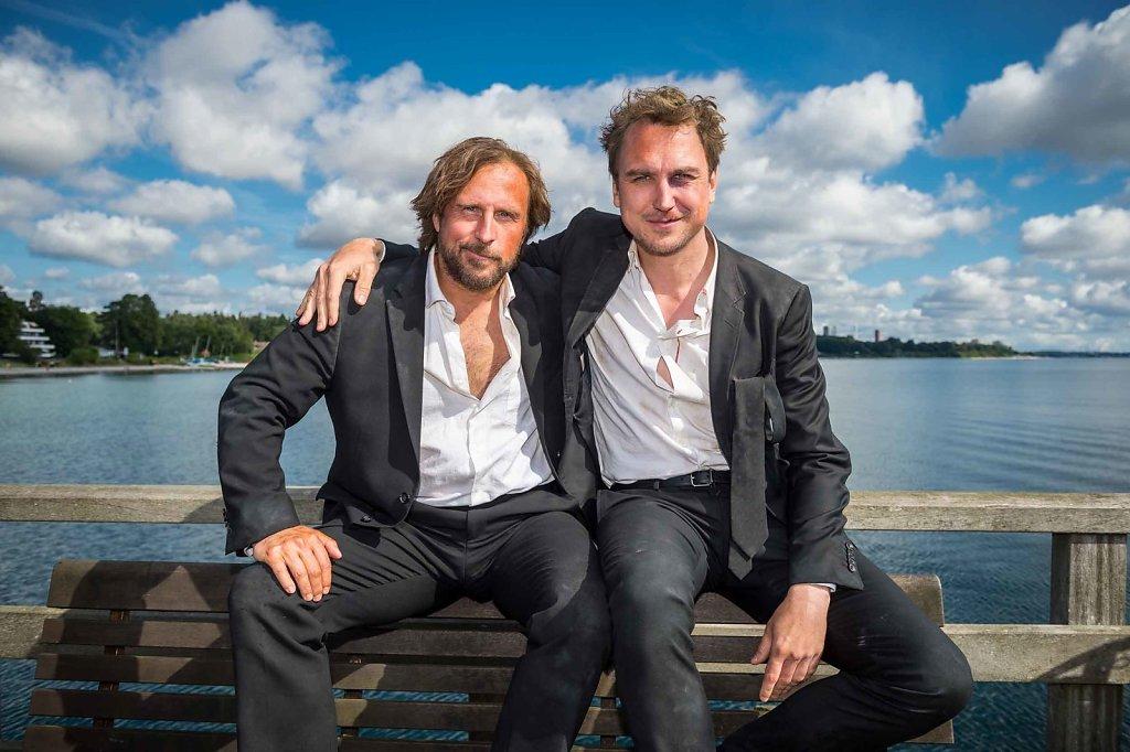 Bjarne Mädel und Lars Eidinger